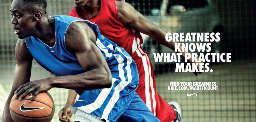 nike ad  find your greatness
