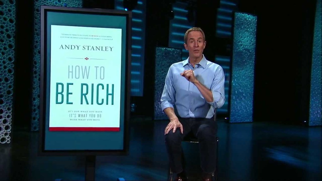 Interview With Andy Stanley On How To Be Rich Paul Sohn